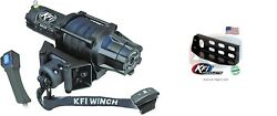 Kfi 5000 Lb Synthetic Cable Winch And Mount Kit John Deere Gator Xuv 625 825 855