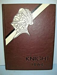 1964 Knight North Andover High School North Andover Massachusetts Yearbook