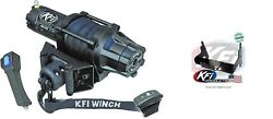 Kfi 5000 Lb Assault Synthetic Cable Winch And Mount Kit Polaris 100430 100210