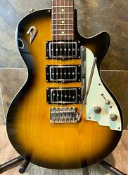 Very Rare Exquisitely Built Duesenberg V Caster In Honey Sunburst w/OHSC (0109)