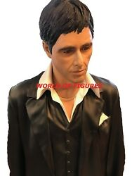 SCARFACE - TONY MONTANA * 1:1 FULL-LIFE-SIZE STATUE  FIGURE * MUCKLE  OXMOX