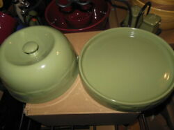 Longaberger Pottery Sage 4 In 1 Entertainer