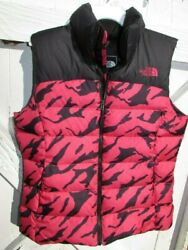 The Vest Puffer Size Xs Small Black Pink White Down Spring Offer New