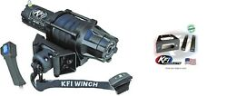 Kfi 5000 Lb Assault Synthetic Cable Winch And Mount Kit Polaris Rzr 570 800 08-19