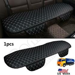 1PCS Blackamp; White Car Seat Cover Cushions PU Leather For Interior Accessories $15.78