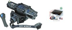 Kfi 5000 Lb Assault Synthetic Cable Winch And Mount Kit Suzuki King Quad 400 08-20