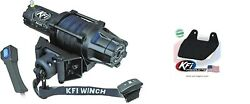 Kfi 5000 Lb Assault Synthetic Cable Winch And Mount Kit Yamaha Grizzly 660 02-08