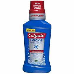 Colgate Peroxyl Mouth Sore Rinse, Mild Mint - 8.4 fluid ounce