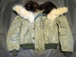 REED PRODUCTS Real McCoys Vintage Military Jacket Size L N-2 US Army Y04