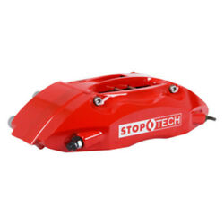 Disc Brake Upgrade Kit-Red Caliper  Slotted Coated Disc Front fits 07-11 Civic