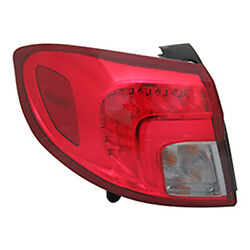 New Premium Fit Driver Side Outer Tail Light Assembly 23350631 NSF