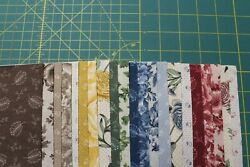 42 Belcourt Reproduction 5 Squares Charm Pack Quilt Fabric By Kaufman