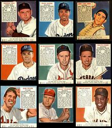 Red Man Tobacco  1952 Red Man Baseball Partial Complete Set VG+