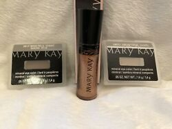 Mary Kay LOT of 3, NIB! Mineral Eye Color & Lip Gloss
