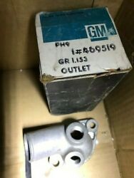 New Gm 469519 Water Outlet. Never Installed. In Original Box. Can Replace 336790