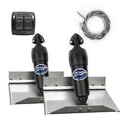 Bennett Complete Kit Bolt Electric Trim Tab Systems With Rocker Switch 12x9 Inch