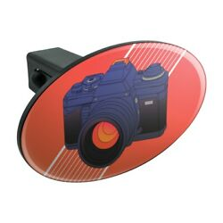 Camera Photography Photographer Oval Tow Trailer Hitch Cover Plug Insert