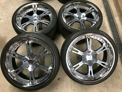 21 Inch / Forged / 3 Piece / Aston Martin Wheels / Continental Tires