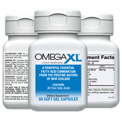 Omegaxl 60 Ct By Great Healthworks Small, Potent, Joint Pain Relief - Omega-3