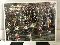 On Any Sunday Ii '79 Dutch Grand Prix Vintage Poster 18.5x24.5 Used Ships Rolled