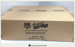2011 Select Nrl Strike Trading Card Factory Sealed Case12 Boxes+case Cardrare