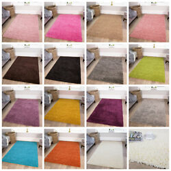 Anti Shed Shag Rug | Thick Easy Clean Shaggy Rugs | Quality Living Room Carpets