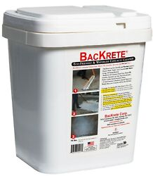 Backrete Eco-friendly And Waterless Concrete Cleaner - 16 Lb Pail With Scoop