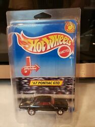 Hot Wheels And03967 Pontiac Gto Se Jiffy Lube 20836 New In Pack 1998 Black 3+ 164