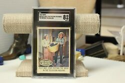 1963 Topps Beverly Hillbillies Card 25 Elly May Sgc Graded 8.0 Nm/mt