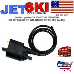 Ignition Coil Pack Cdi For Seadoo Gti Gts Gtx Hx Sp Spi Spx 278000202 278000586
