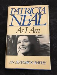 Patricia Neal Autographed As I Am Signed First Edition-psa/dna Free Shipping