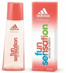 Fun Sensation by Adidas for women EDT 1.6 1.7 oz New in Box $10.42