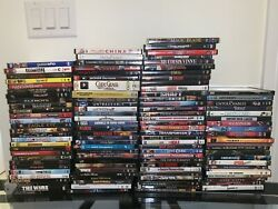 107 Dvd Movies Assorted Wholesale Lot Bulk Used Dvds