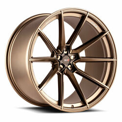20 Savini Sv-f4 Forged Bronze Concave Wheels Rims Fits Lexus Rc350