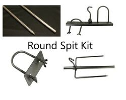 Whole Animal Pig Lamb Rotisserie Spit And Accessories Kit