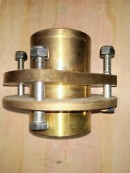 Marine Stern Tube Shaft Log 50mm Bearing With Compression Ring And Hardware