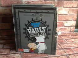Family Guy The Vault Dvd Boxed Set Series 1-10 Includes Collectors Postcards