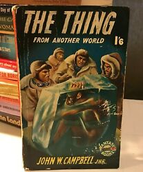 John W Campbell Jnr. The Thing From Another World A Cherry Tree Novel 408 Sci-fi