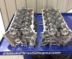 Pair of FORD MUSTANG  GT SHELBY GT350 voodoo 5.2 Cylinder Heads fits Coyote 5.0