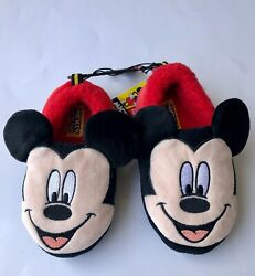 Disney Mickey Mouse Slide on Slippers BoyGirl Size 910 House Shoes Fun Gift $7.99
