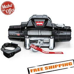 Warn 89120 Zeon 12 Winch With Steel Wire Rope And Roller Fairlead - 12,000 Lbs.