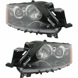 Headlight Set For 2012 Mazda CX-7 Driver and Passenger Side w bulb