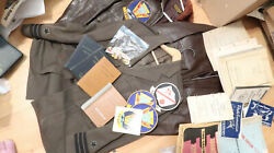 Wwii Us Navy Usn Vp 932 Grouping With G1 Leather Jackets Named Pilot P2v 5f
