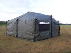 MGPTS-MODULAR GENERAL PURPOSE TENT SYSTEM (18′ X 18′) SMALL
