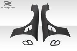 Duraflex S14 Supercool Wide Body Front Fenders 2 Piece For 240sx Nissan 97-