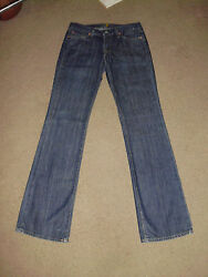 7FAM Ladies Girls Womens sz 28 Bootcut Jeans Seven For All Mankind Dahan