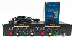 GML Model 8900 Dynamic Gain Control Compressor Series III Rack with Power Supply