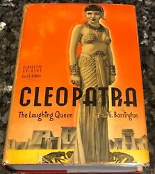 Claudette Colbert As Cleopatra Cecil B. Demille Hollywood Movie Ed., Signed