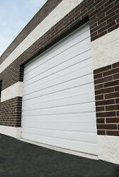 Duro Steel Amarr 2402 Series 16and039 Wide By 8and039 Tall Commercial Overhead Garage Door