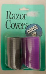 Vintage Razor Covers Cover Up Brand Unique Old Hard To Find Retro Items Nice